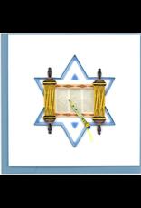 Torah Quilling Card
