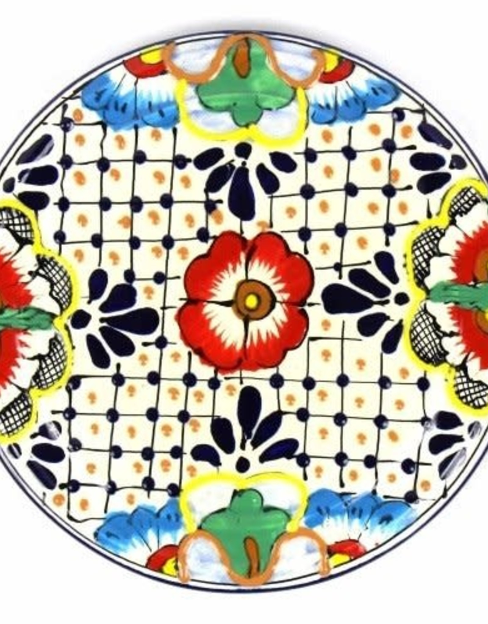 Mexico, Dots and Flowers Wall Hanging/Trivet