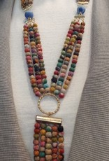 Kantha Shiva Necklace