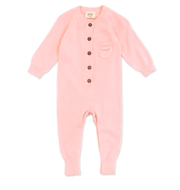 Organic Knit, Coverall Blush