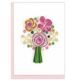 Flower Bouquet, Quill Gift Enclosure Card, Vietnam