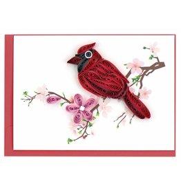 Cardinal Quill Gift  Enclosure, Vietnam