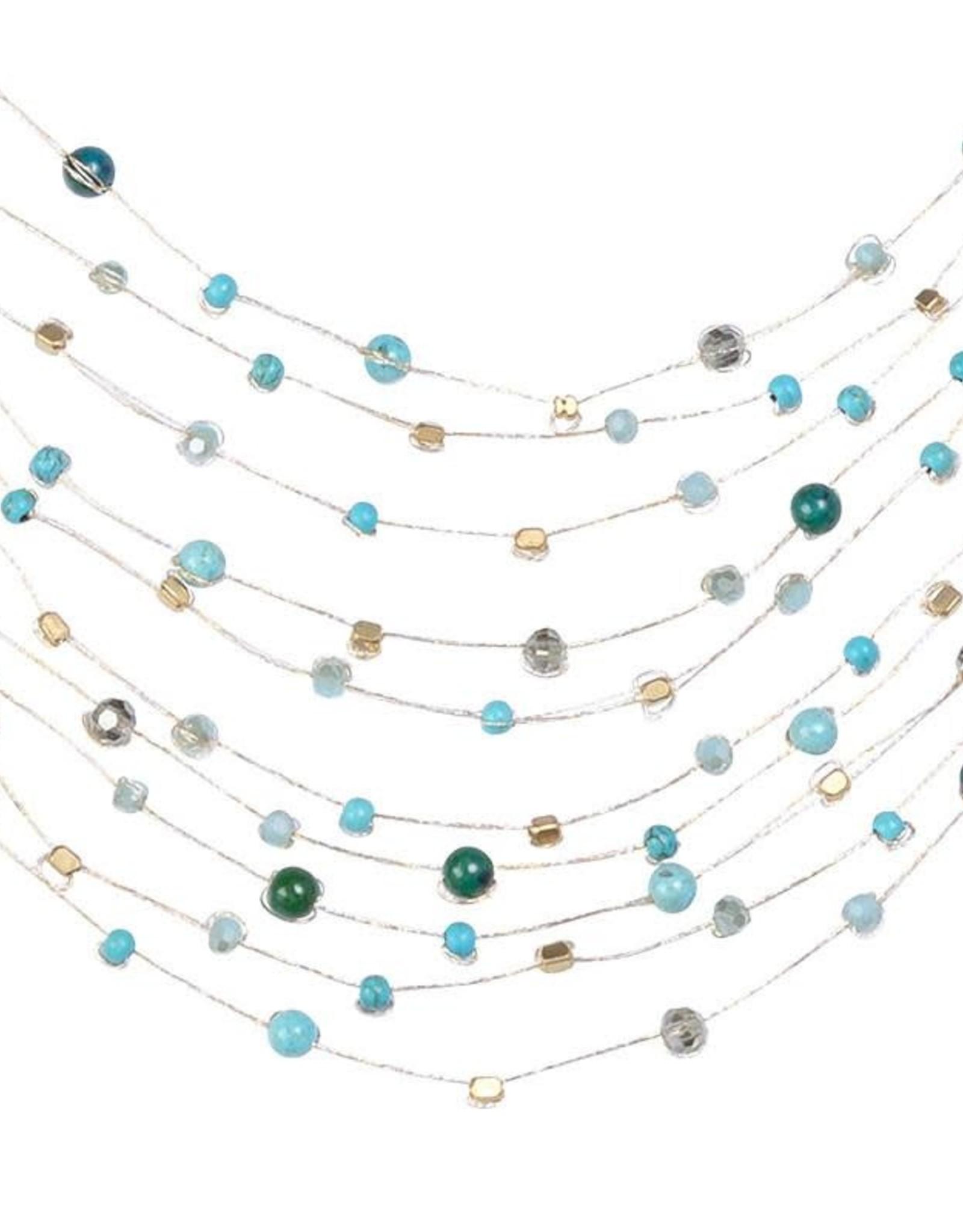 Akha Reena Necklace Turquoise