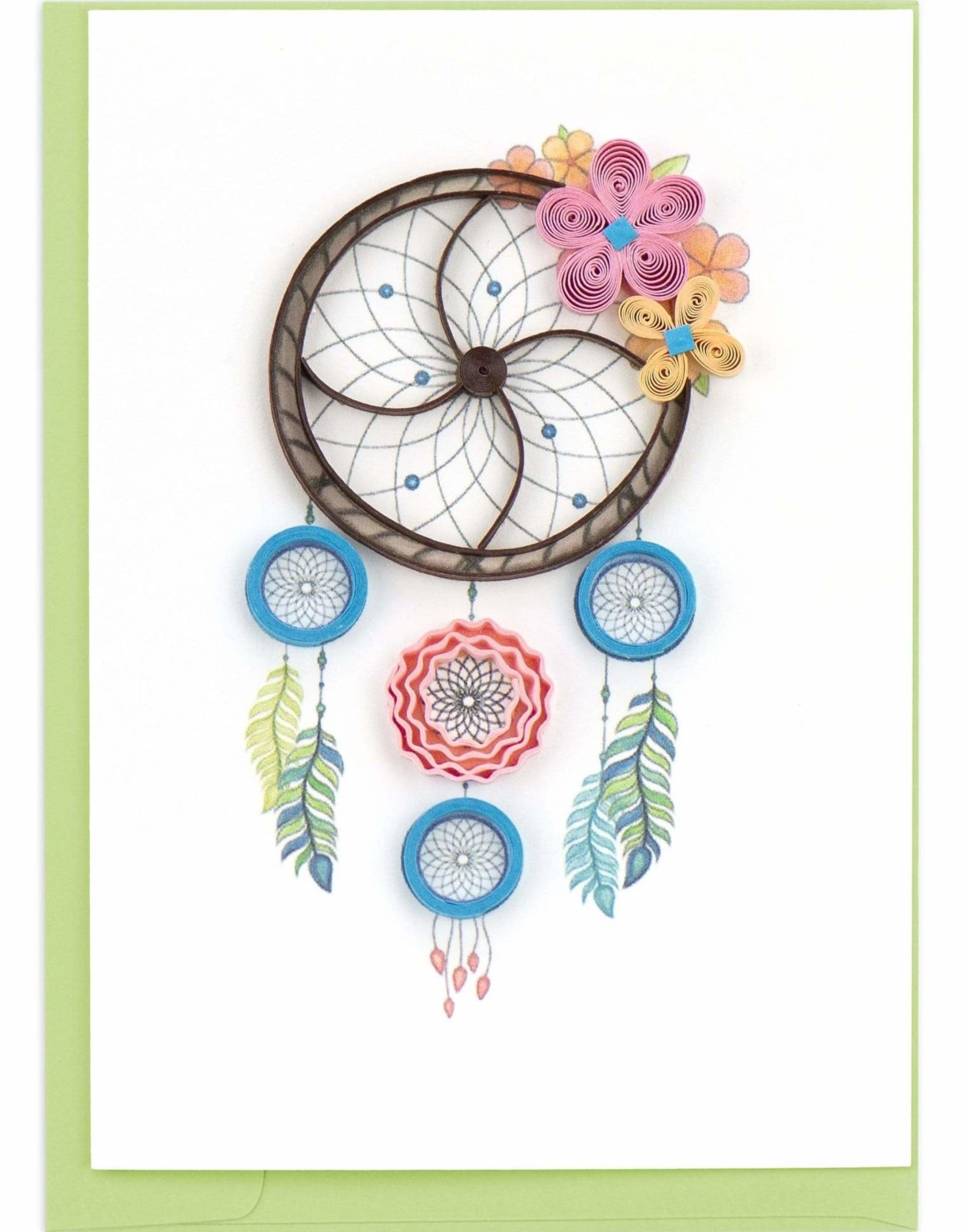 Vietnam,  Quill Enclosure Cards Dream Catcher