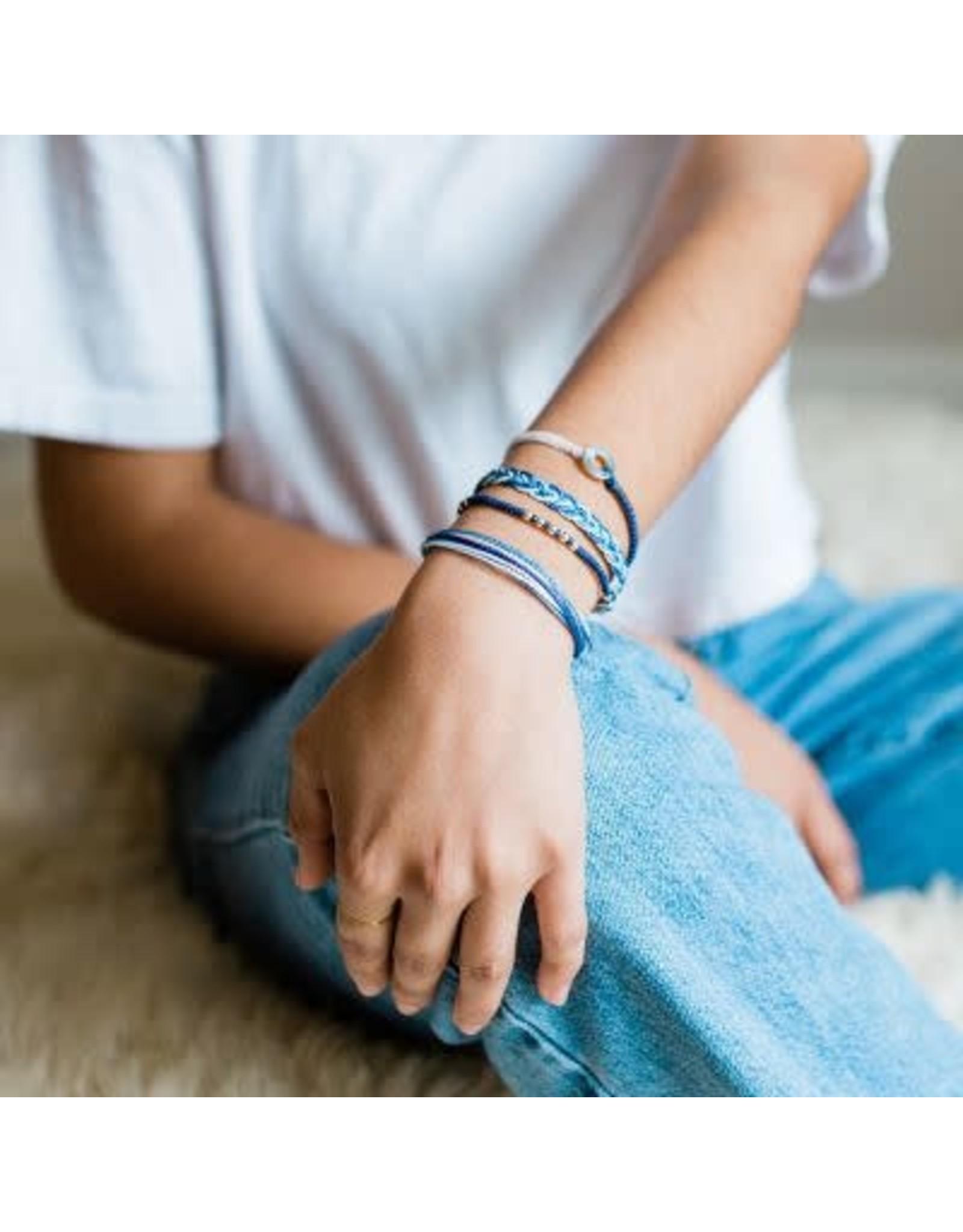 Elements Bracelet,  Blue