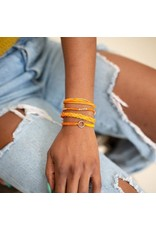 Carded Bracelet Set Orange, Guatemala