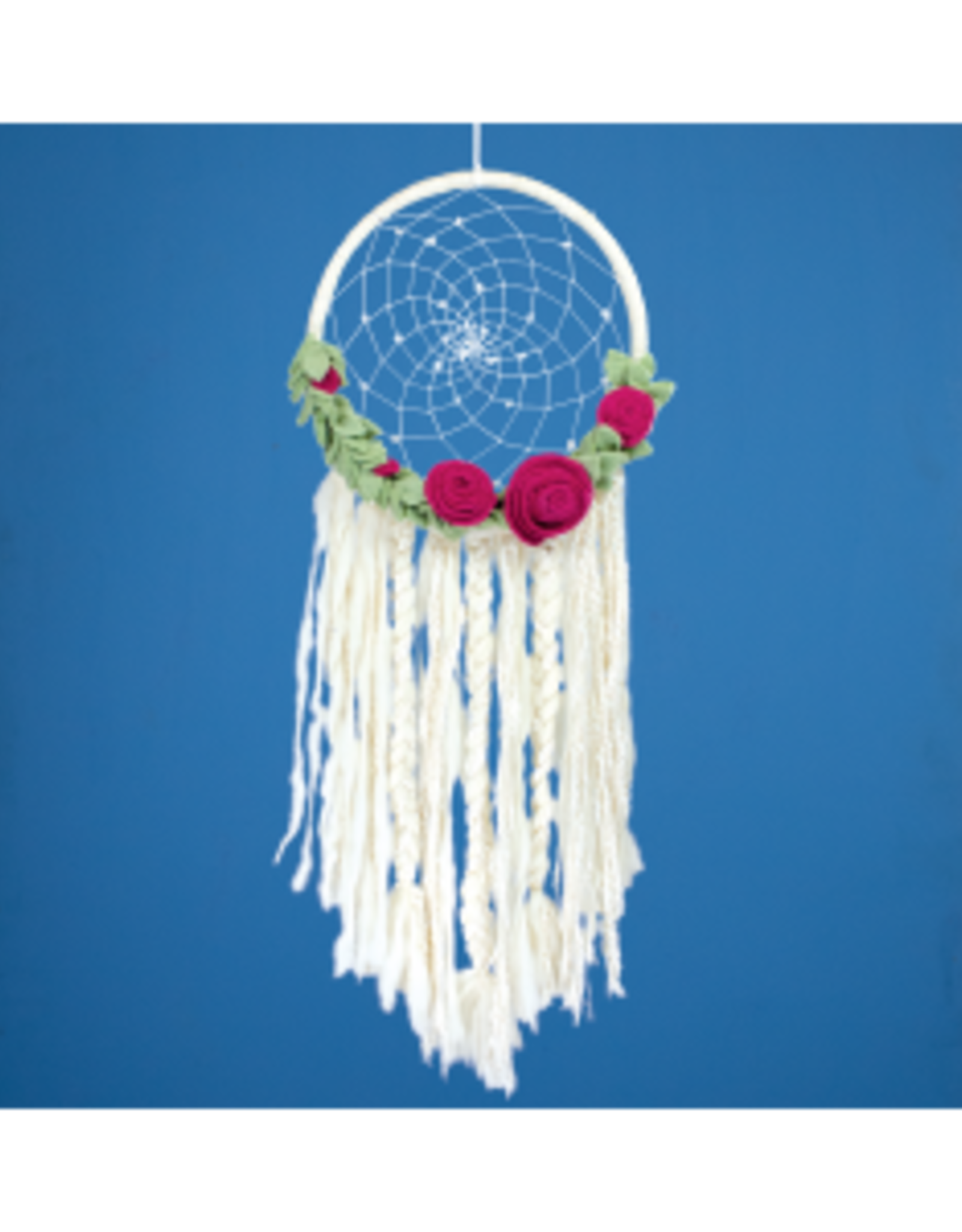 Felt Dream Catcher Floral Romance, Nepal