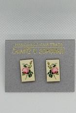 Botanical Studs, Roses