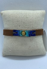 Leather, Glass Bracelet, Beach
