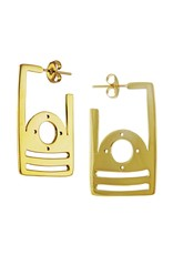 Parallel Angular Earring Posts