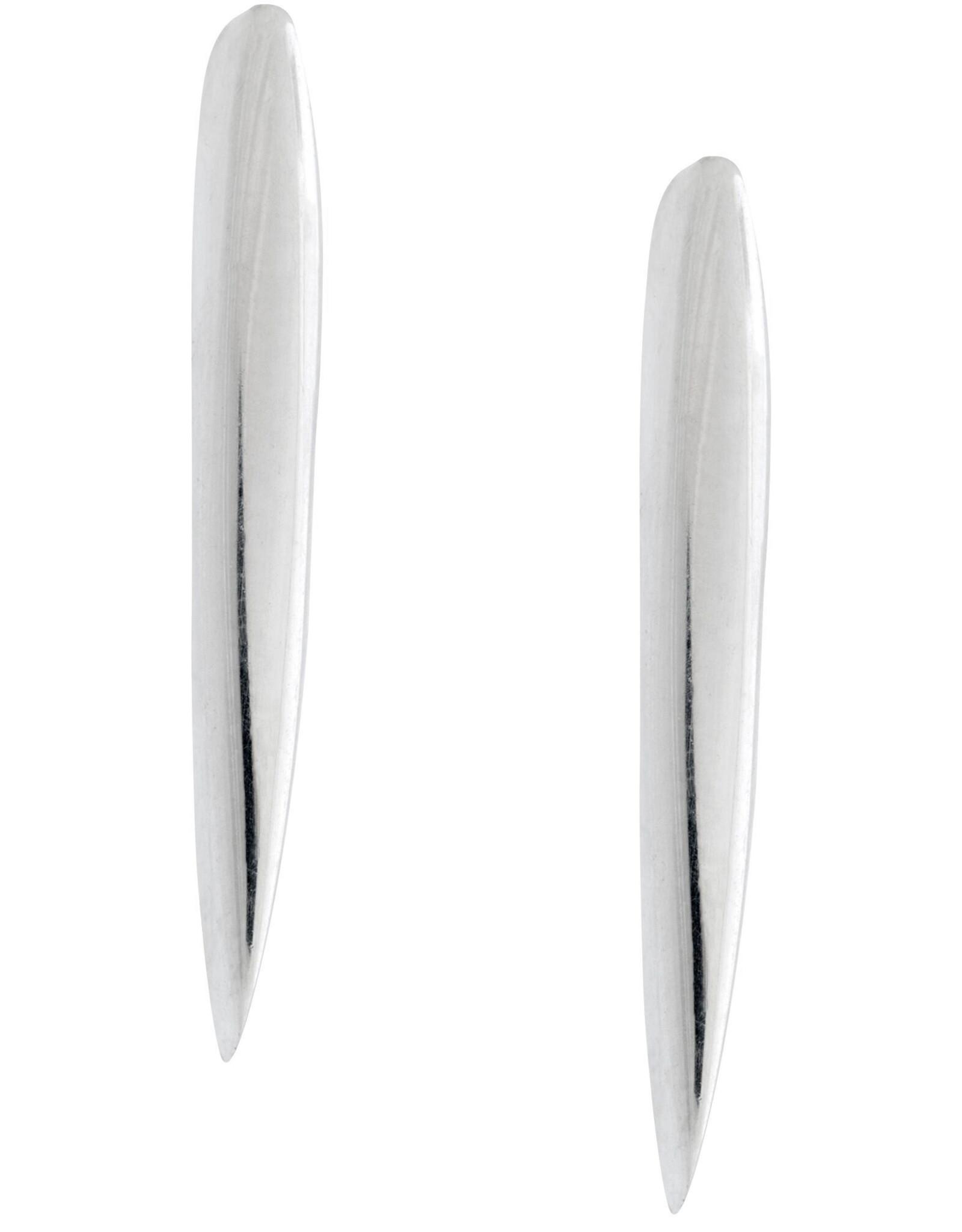Fierce Sterling Silver Post Earrings