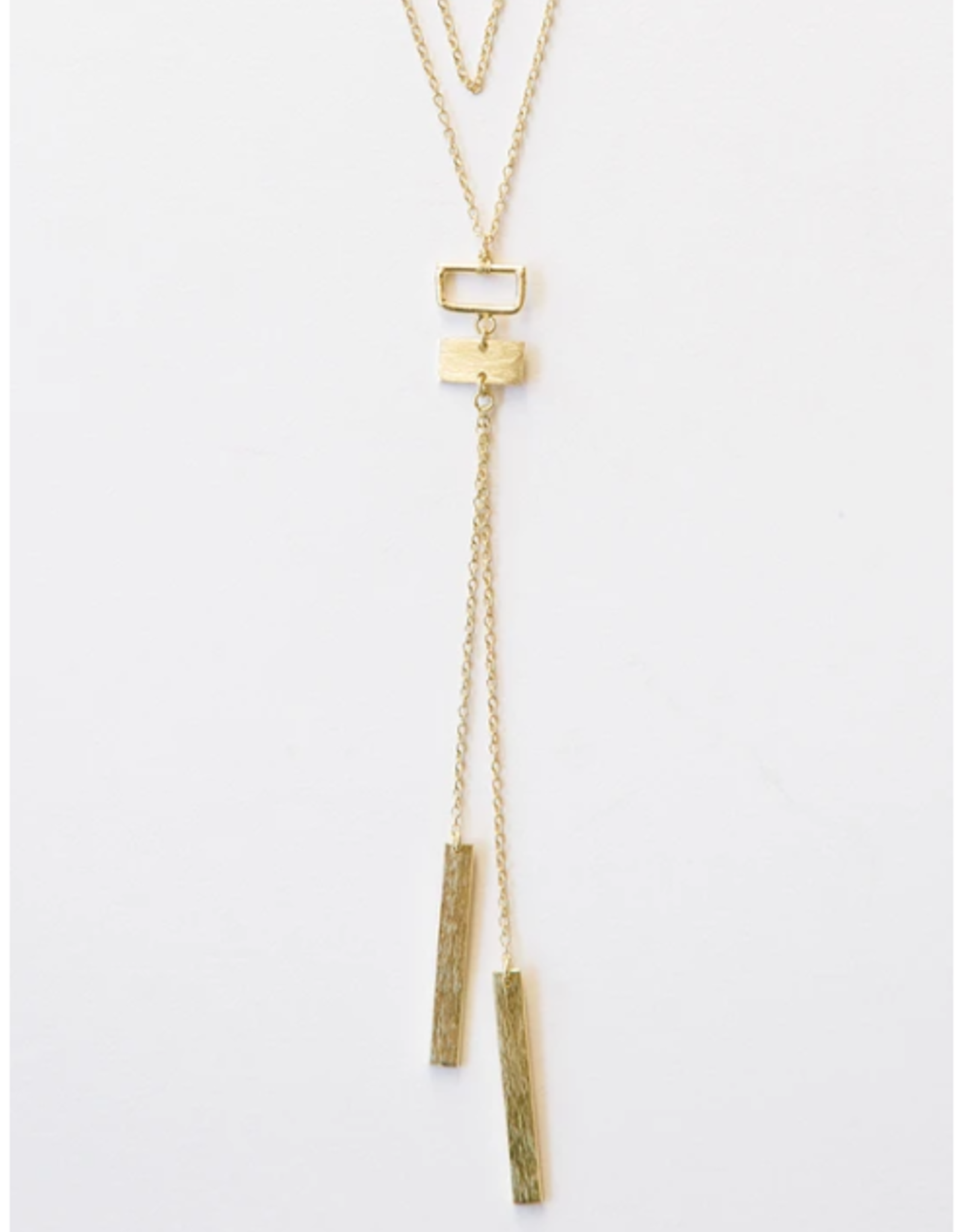 Bolo Necklace Gold