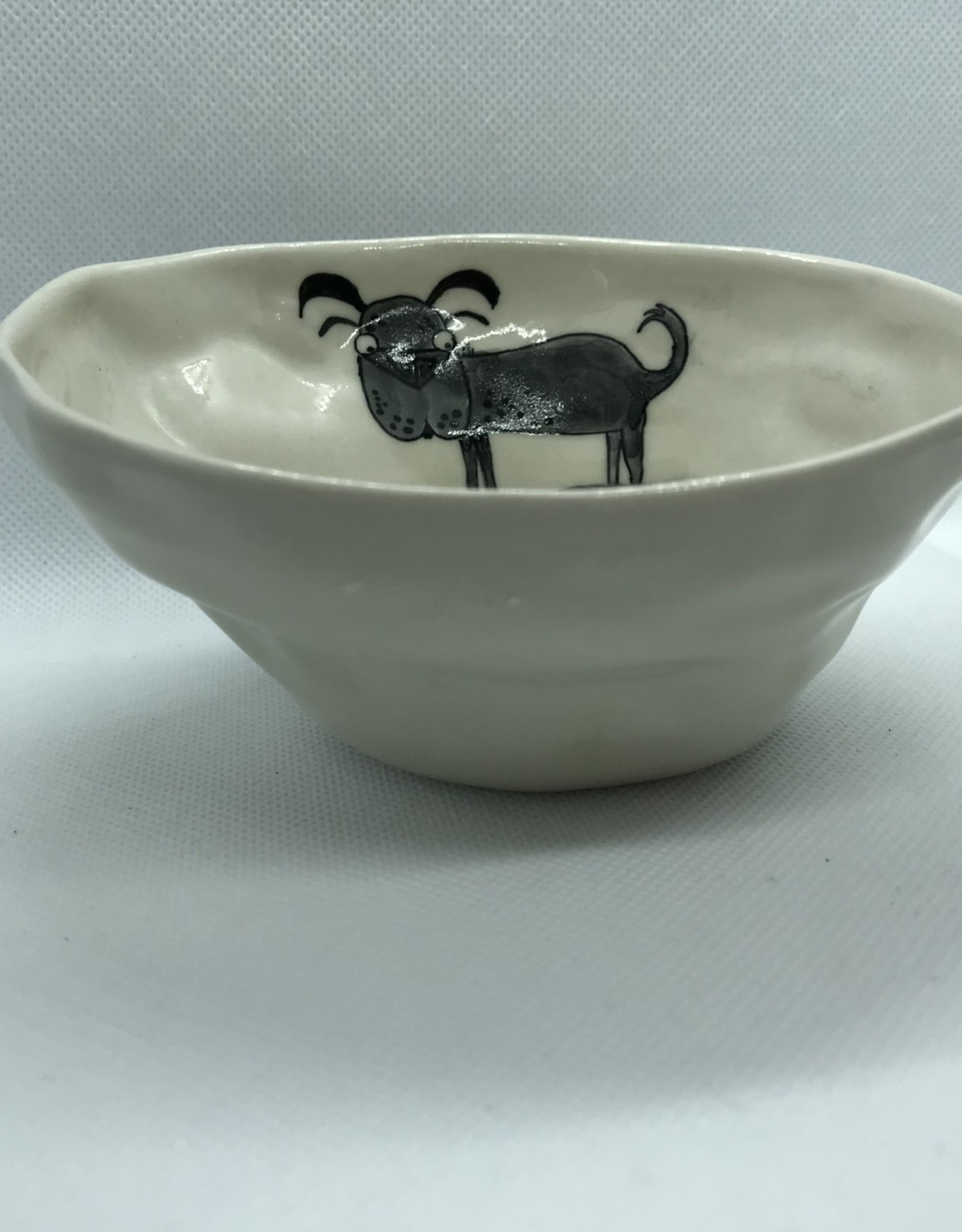 Ceramic Animal Bowl, Dog