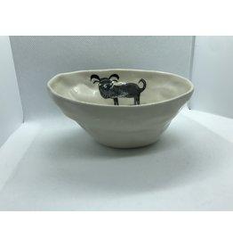 Ceramic Animal Bowl, Dog, Vietnam