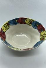 Small Ceramic Bowl, Fish, Vietnam