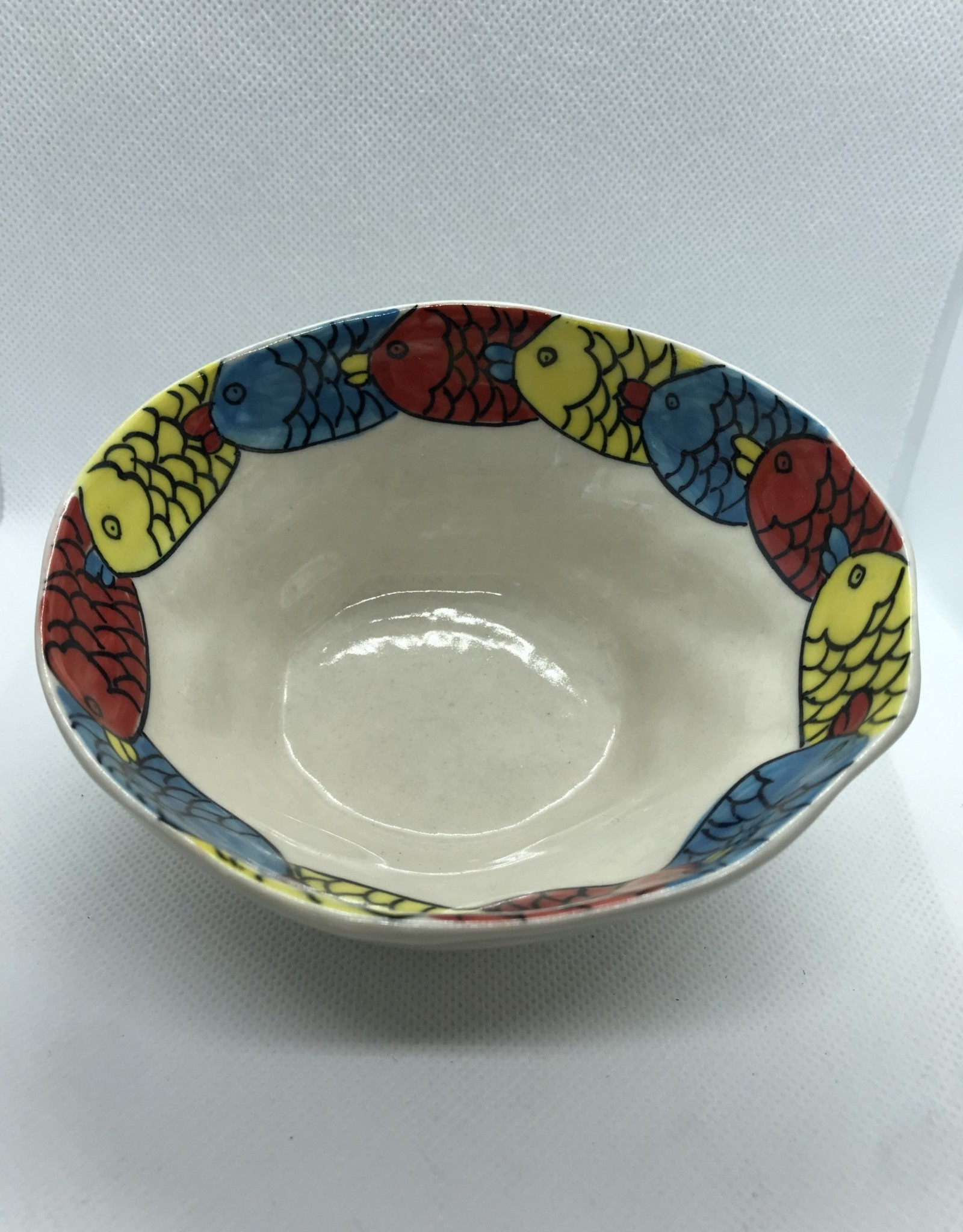 Small ceramic bowl, fish