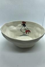 Ceramic Animal Bowl, Rooster