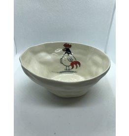 Ceramic Animal Bowl, Rooster, Vietnam