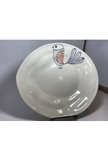 Ceramic Serving Platter, Bird