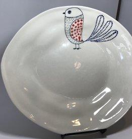 Ceramic Serving Platter, Bird