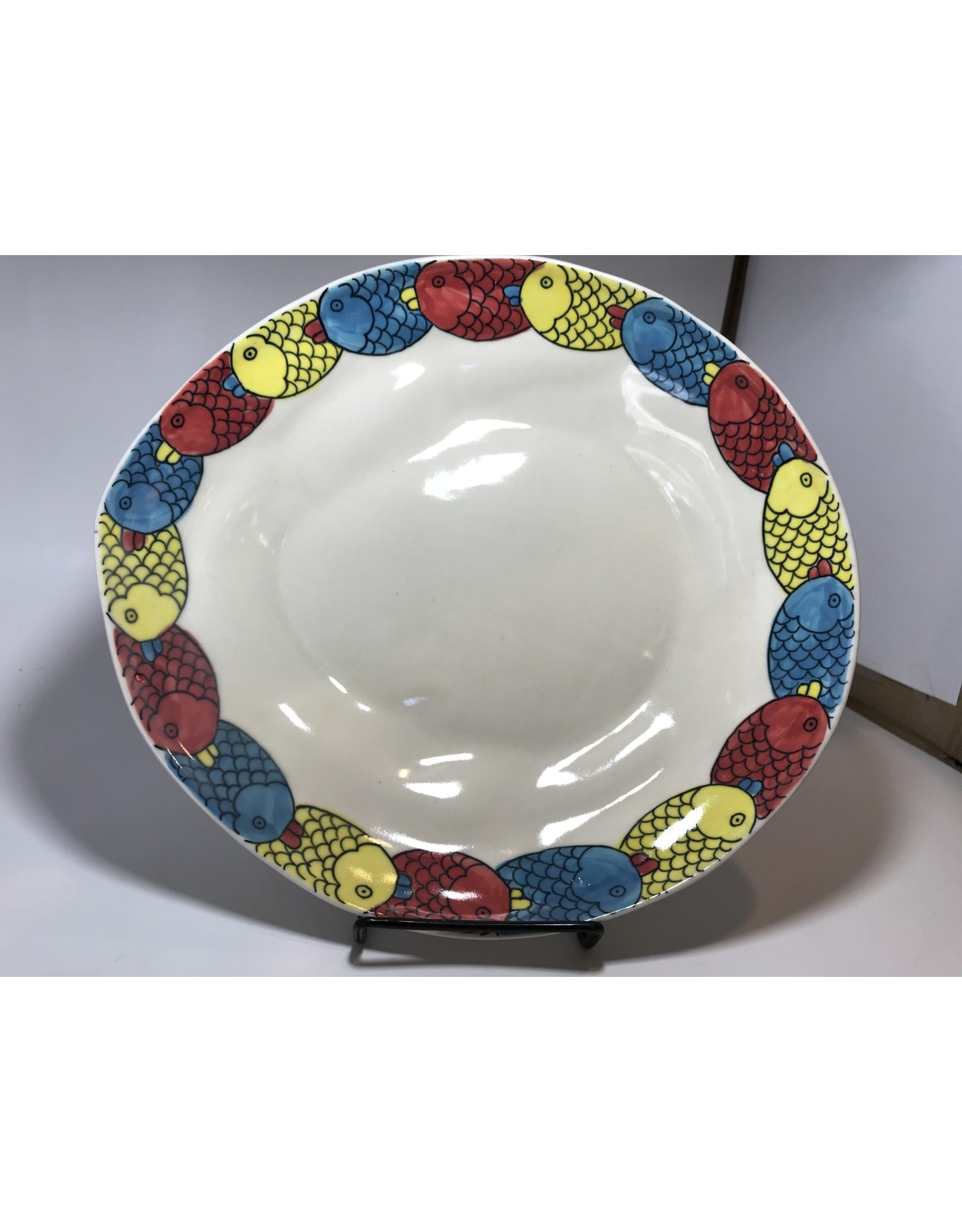 Ceramic Serving Platter, Fish