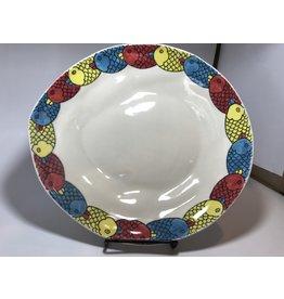 Ceramic Serving Platter, Fish