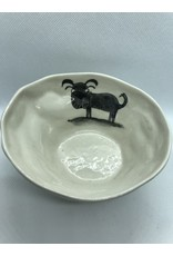 Ceramic Serving Platter, Dog