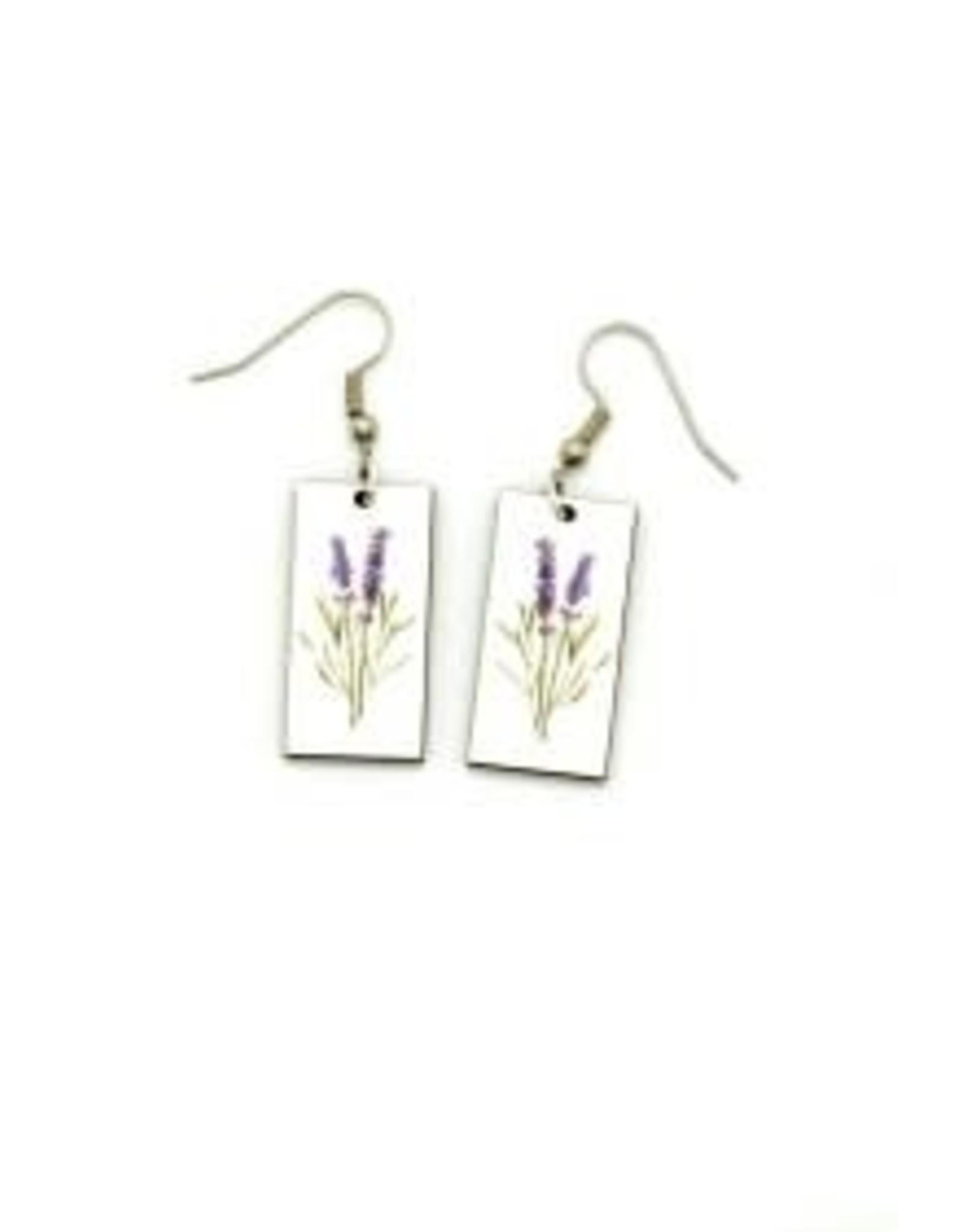 Botanical, Dangle, Lavender