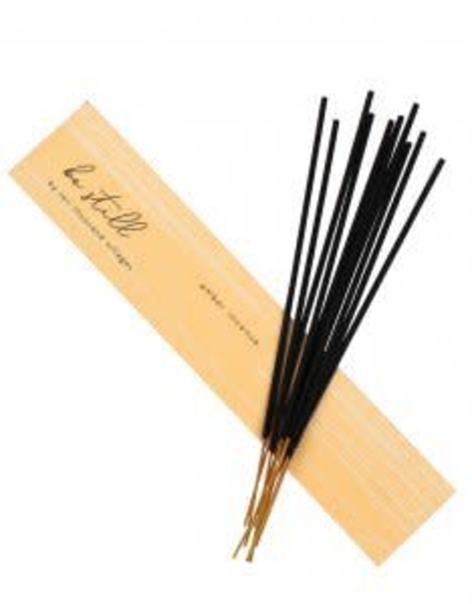 feb19 India, Stick Incense Amber