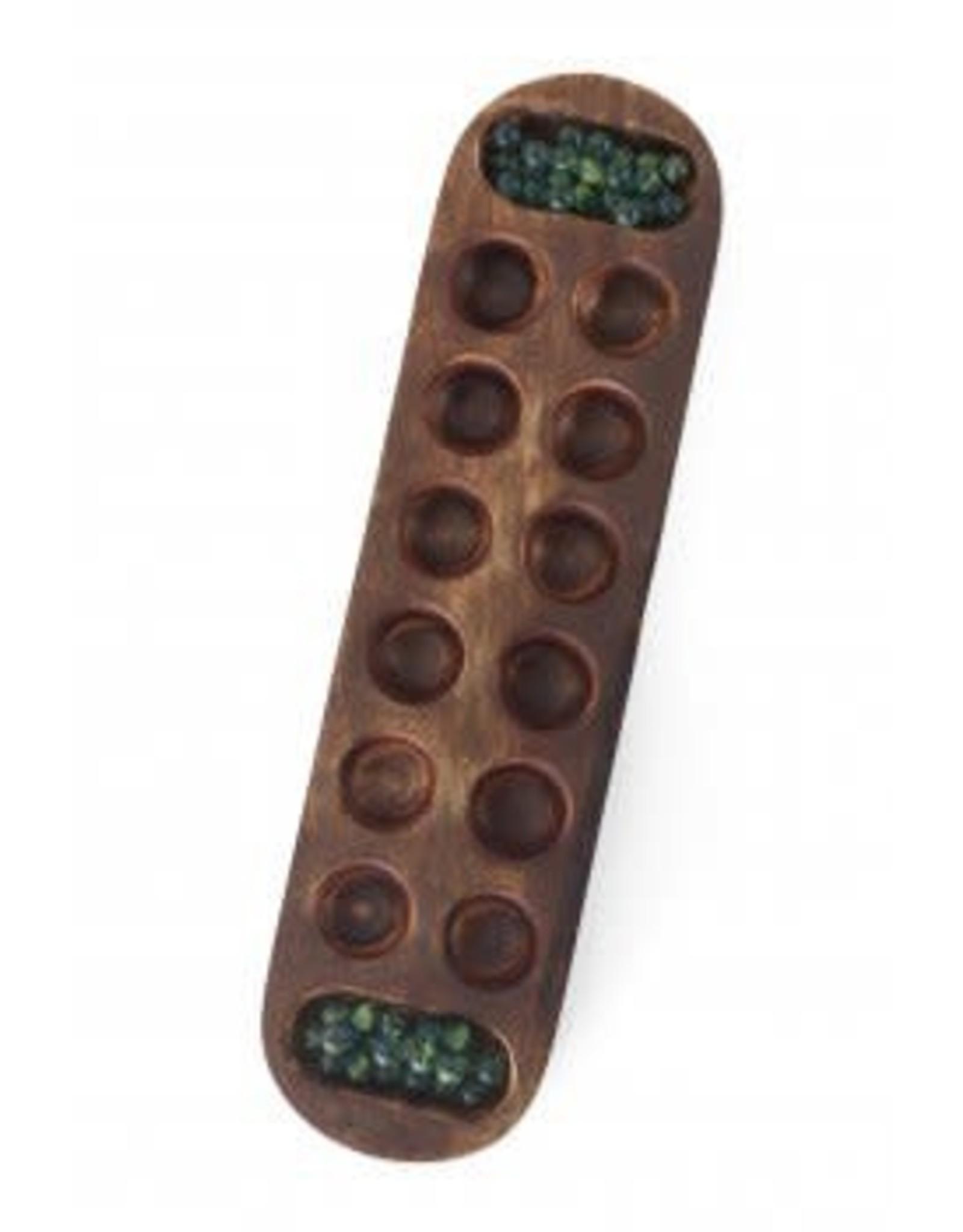 Wood Mancala Game