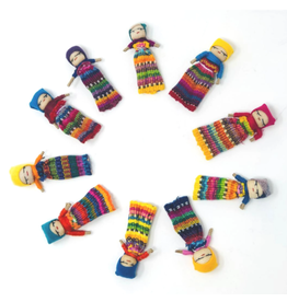 "Worry Dolls 2"" individual"