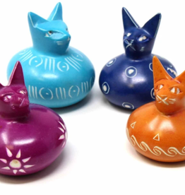 Kenya, Soapstone Cat Ball