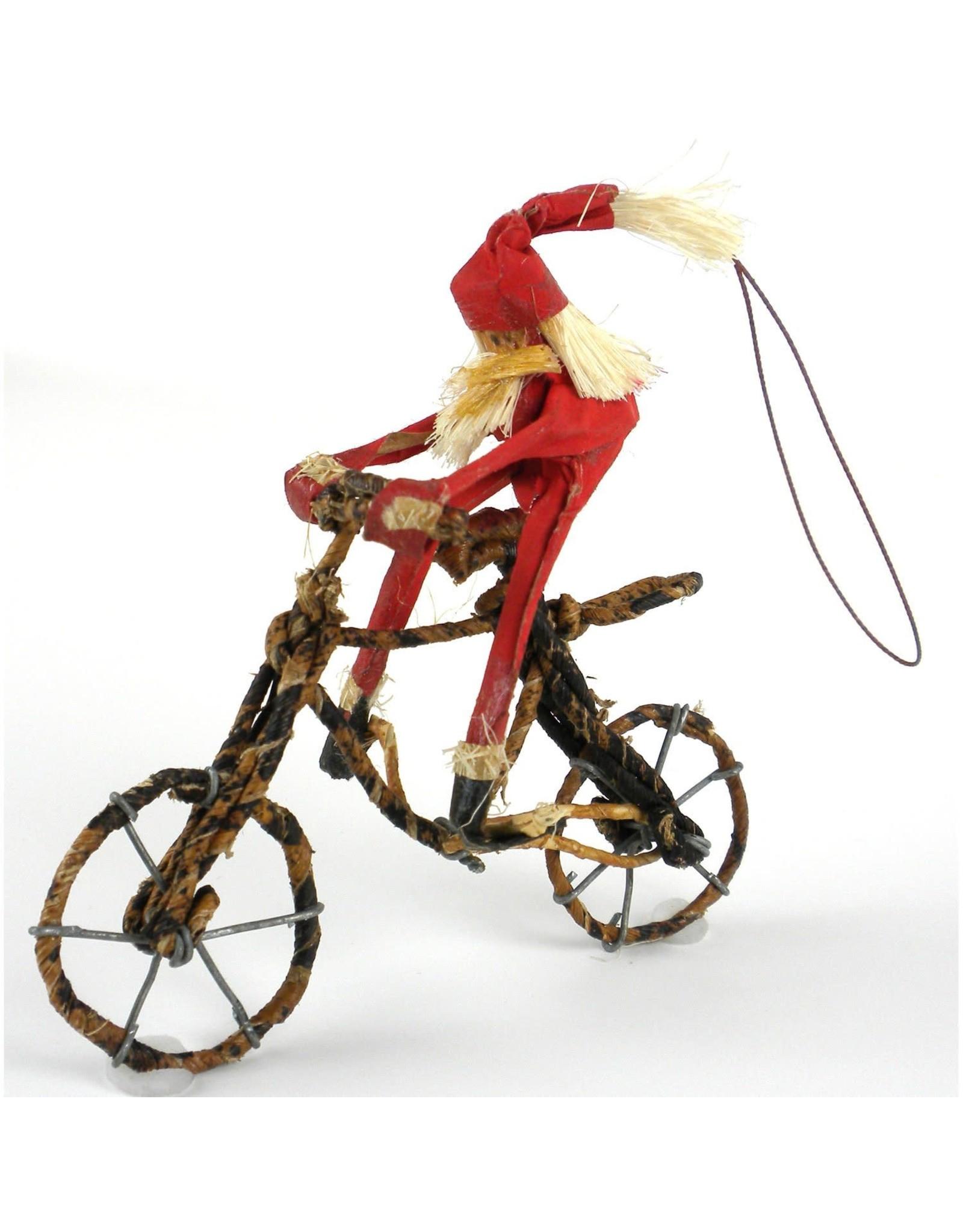 Nepal, Santa on Bike