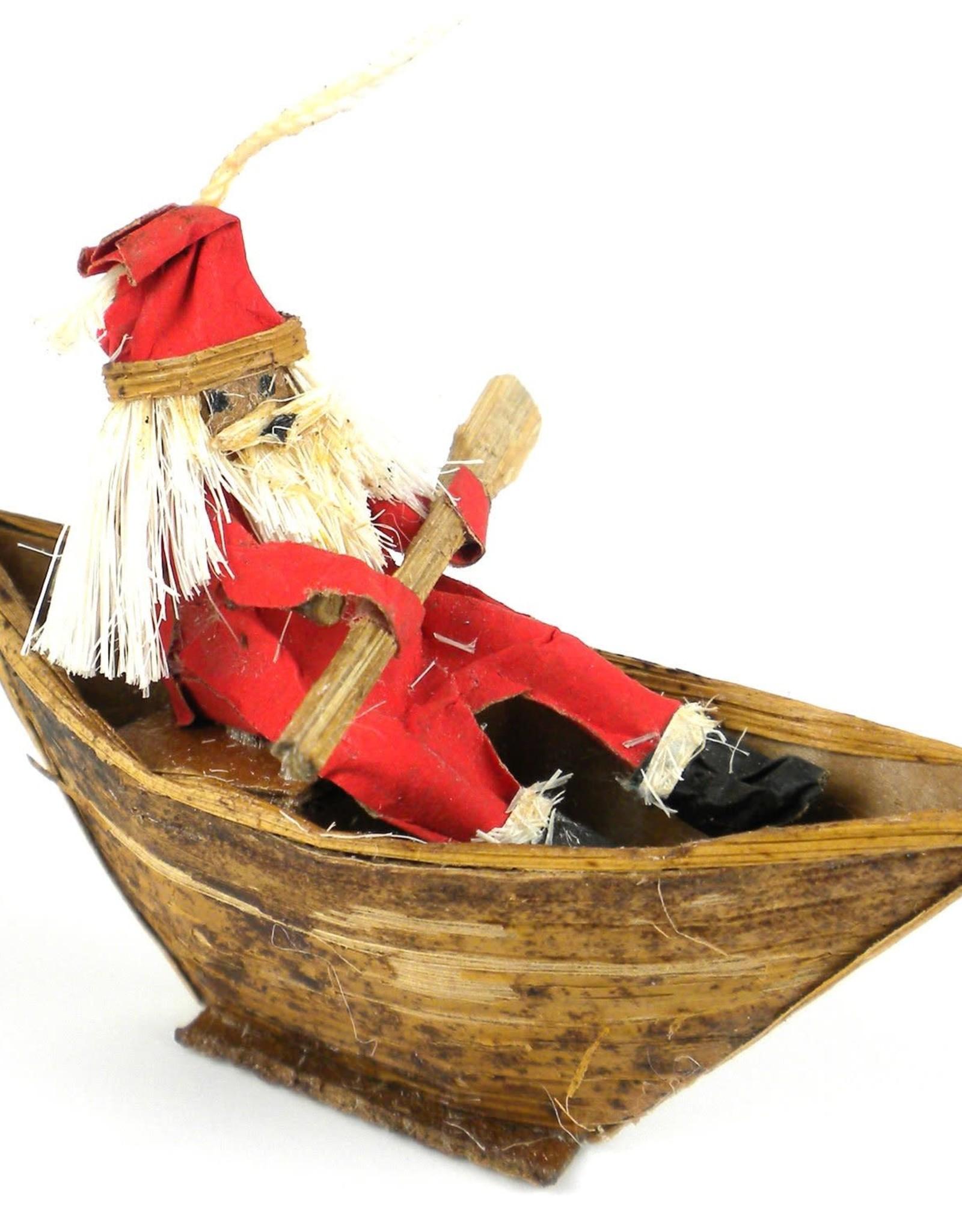 Kenya, Santa in Boat