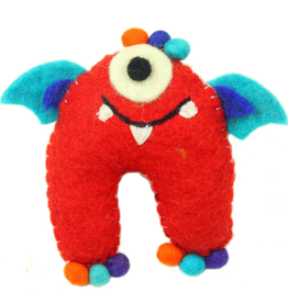 Nepal, Tooth Fairy  Sea Monster Red