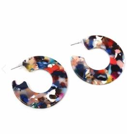 Multi Color Resin Hoops