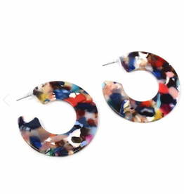 Multi Color Resin Hoops
