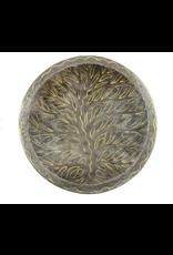 Metal  Tree of Life Bowl