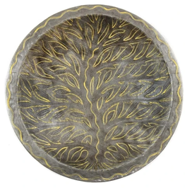 Haiti, Metal Art Tree of Life Bowl