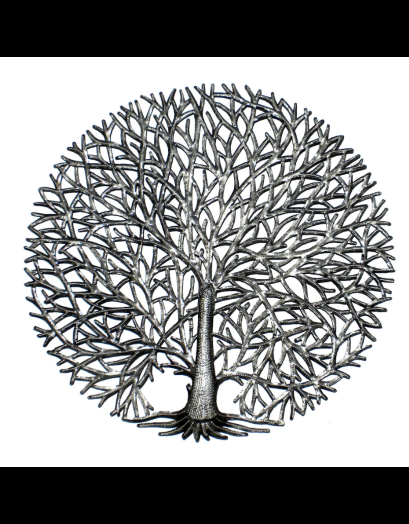 Haiti, Fine Tree of LIfe Metal Art