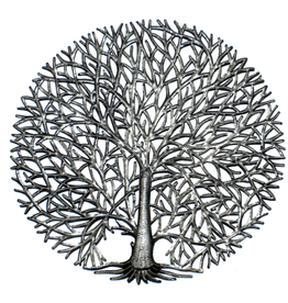 Haiti, Fine Tree of LIfe Metal Art