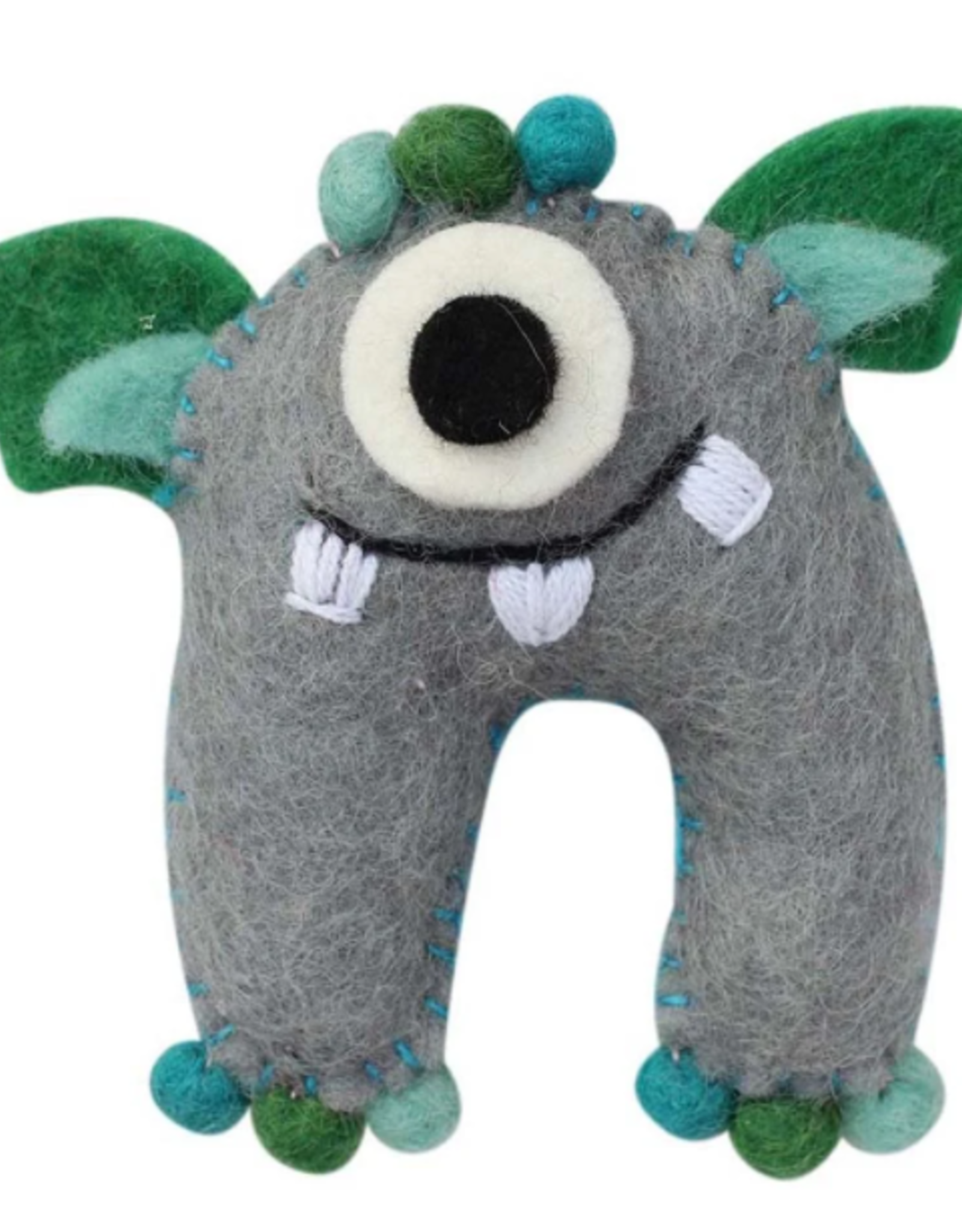 Nepal, Tooth Fairy  Sea Monster Gray/Blue