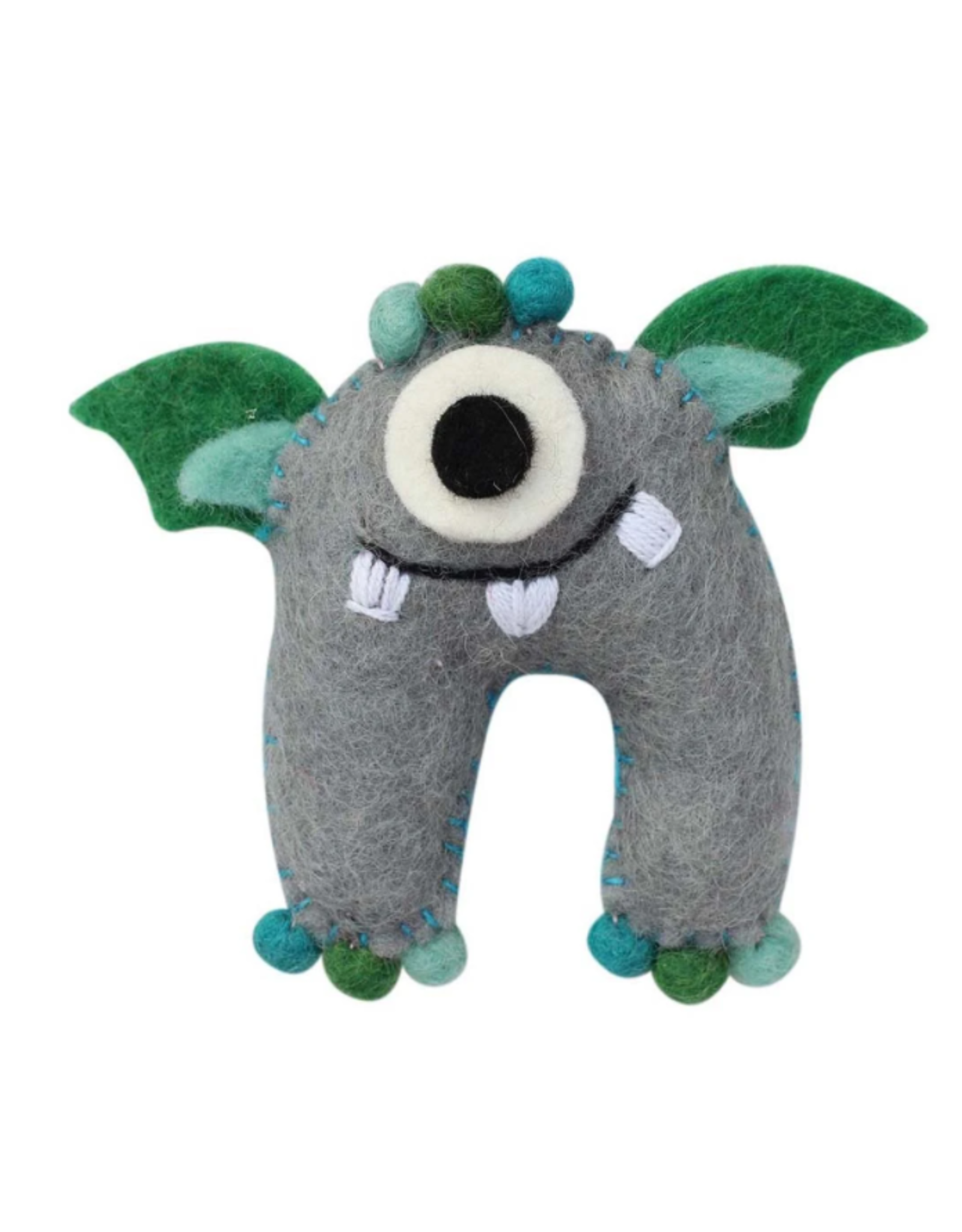 Nepal, Tooth Fairy  Sea Monster Gray/Blue
