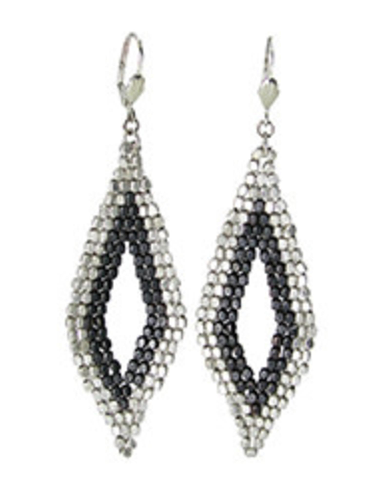 Cubist Mod Diamond Earrings