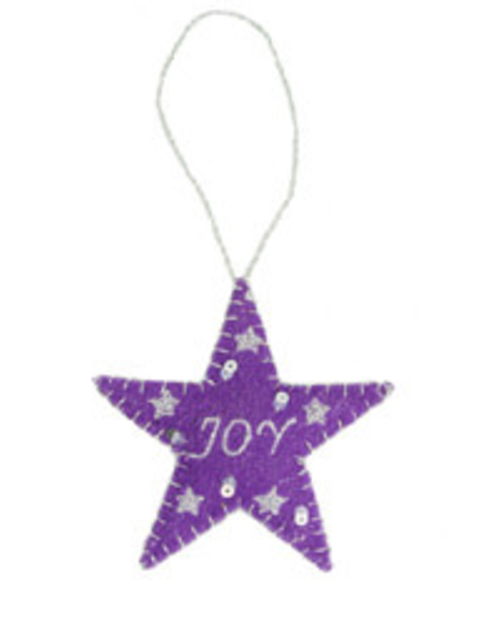 India, Joy Star Ornament