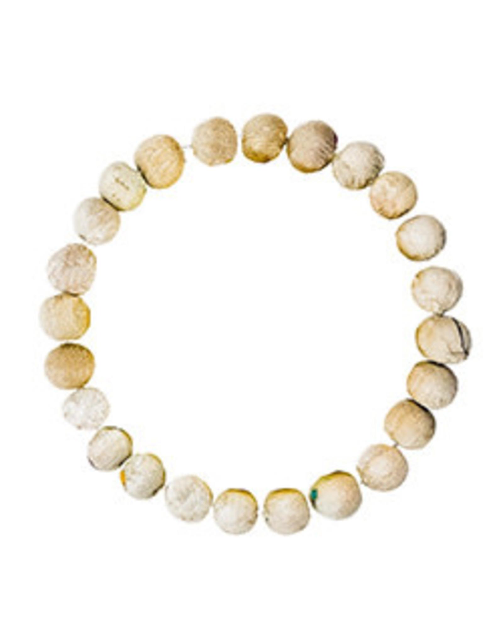 Kantha Chromatic Bracelet  Beige