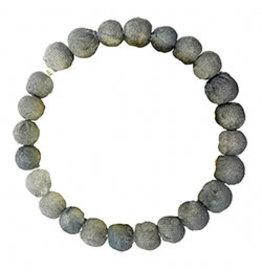 Kantha Chromatic Bracelet  Grey, India