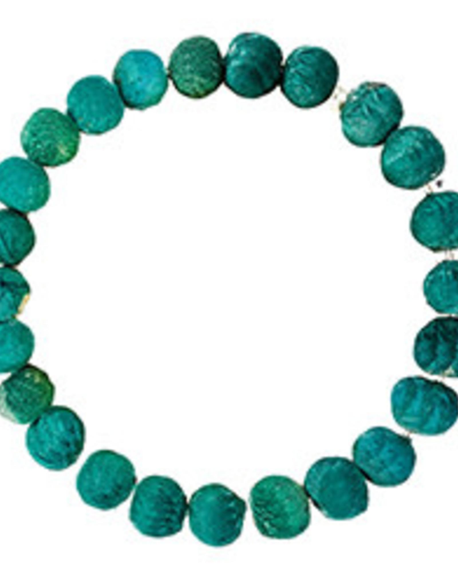 Kantha Chromatic Bracelet Teal
