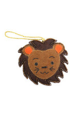 Felt Lion Ornament, India