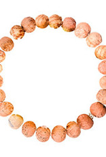 India, Kantha Chromatic Bracelets  Salmon